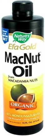 DROPPED: Nature's Way - EFAGold MacNut Oil - 16 oz.