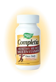 DROPPED: Nature's Way - Completia Heart - 60 Tablets