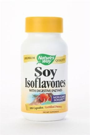 DROPPED: Nature's Way - Soy Isoflavones With Digestive Enzymes - 100 Capsules