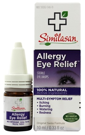 Similasan - Allergy Eye Relief 100% Natural - 0.33 oz.
