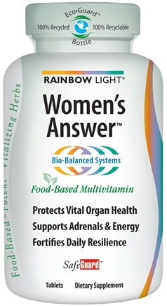 DROPPED: Rainbow Light - Women's Answer Multivitamin - 60 Tablets