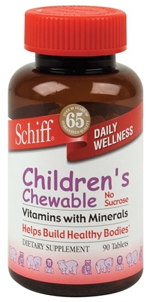 DROPPED: Schiff - Children's Chewable Vitamins with Minerals - 90 Chewable Tablets CLEARANCE PRICED