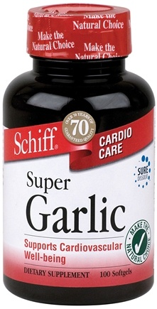 DROPPED: Schiff - Super Garlic - 100 Softgels CLEARANCE PRICED