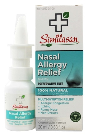 Similasan - Nasal Allergy Relief - 0.5 oz.