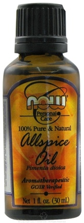 DROPPED: NOW Foods - Allspice Oil - 1 oz.