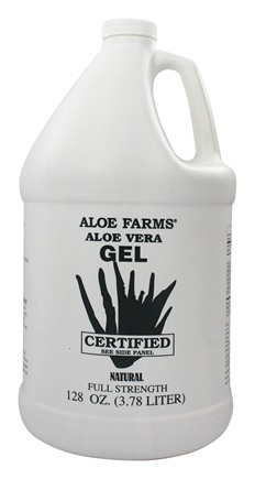 Aloe Farms - Aloe Vera Gel Organic Gallon - 128 oz.