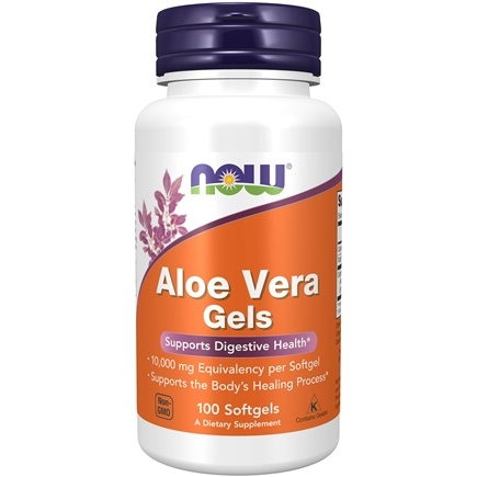 Zoom View - Aloe Vera Gels 5000 mg Equivalency