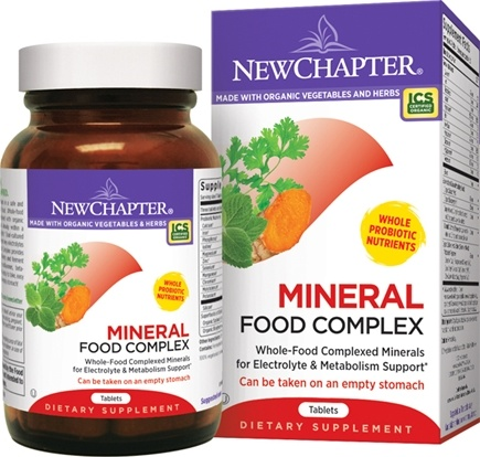 DROPPED: New Chapter - Every Woman's Mineral Complex - 90 Tablets CLEARANCED PRICED