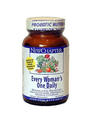 DROPPED: New Chapter - Every Woman's One Daily - 60 Tablets SPECIALLY PRICED
