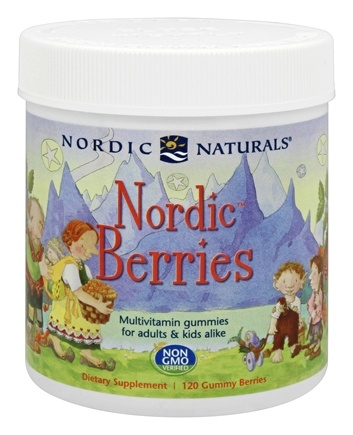 Nordic Naturals - Nordic Berries Multivitamin Gummies - 120 Gummies