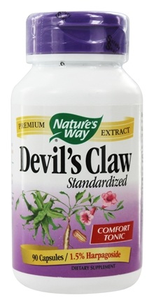 Nature's Way - Standardized Devil's Claw - 90 Capsules