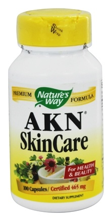 Nature's Way - AKN (acne) Skin Care 465 mg. - 100 Capsules