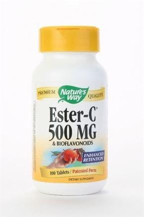 DROPPED: Nature's Way - Ester-C 500-Bioflavonoids - 90 Tablets