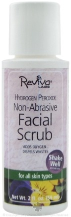 DROPPED: Reviva Labs - Hydrogen Peroxide Non-Abrasive Facial Scrub For All Skin Types - 2 oz.