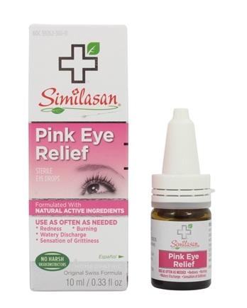 Similasan - Irritated Eye Relief Sterile Eye Drops - 0.33 oz. (formerly Pink Relief Relief)