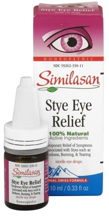 DROPPED: Similasan - Stye Eye Relief Homeopathic Sterile Eye Drops - 0.33 oz.