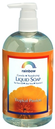 DROPPED: Rainbow Research - Liquid Soap Tropical Passion - 16 oz. CLEARANCE PRICED