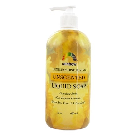 Rainbow Research - Liquid Soap Unscented - 16 oz.