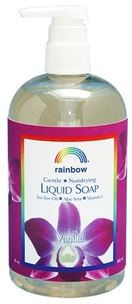 DROPPED: Rainbow Research - Liquid Soap Vanilla - 16 oz.