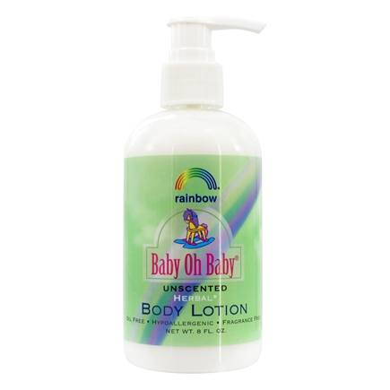 Rainbow Research - Baby Oh Baby Herbal Body Lotion Unscented - 8 oz.
