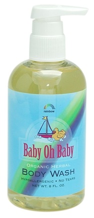 DROPPED: Rainbow Research - Baby oh Baby Body Wash - 8 oz. CLEARANCE PRICED