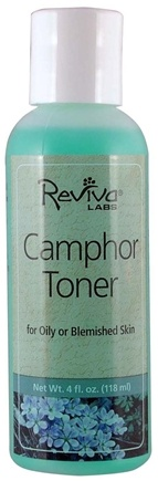 DROPPED: Reviva Labs - Camphor Toner - 4 oz. Formerly: Camphor Lotion