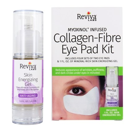 Reviva Labs - Collagen-Fibre Eye Pad Kit