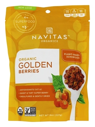 Zoom View - Golden Berries (Gooseberries) Certified Organic