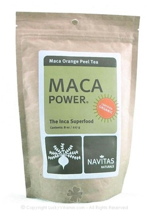 Zoom View - Maca Power Maca Orange Peel Tea