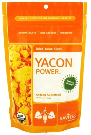 DROPPED: Navitas Organics - Yacon Power Dried Yacon Slices - 4 oz. CLEARANCE PRICED