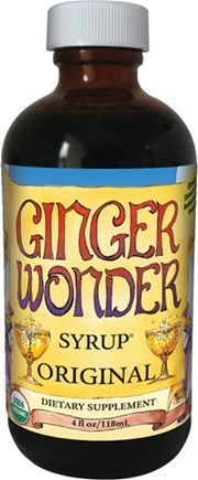 Zoom View - Ginger Wonder Syrup