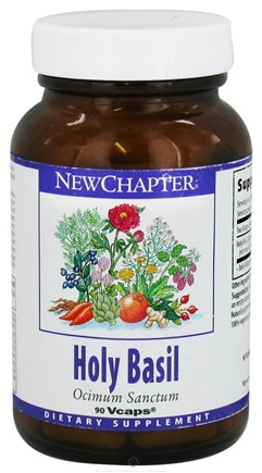 DROPPED: New Chapter - Holy Basil - 90 Vegetarian Capsules