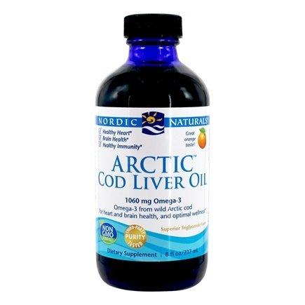 Nordic Naturals - Arctic Cod Liver Oil Orange - 8 oz.