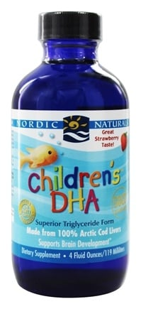 Nordic Naturals - Children's DHA Liquid Strawberry - 4 oz.