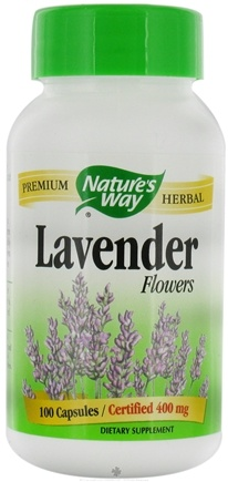 DROPPED: Nature's Way - Lavender Flowers CLEARANCE PRICED - 100 Capsules