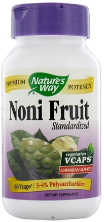 DROPPED: Nature's Way - Standardized Noni Fruit - 60 Vegetarian Capsules
