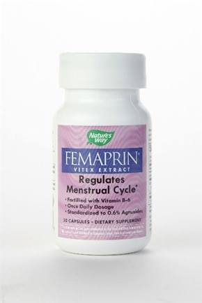 DROPPED: Nature's Way - Femaprin (Vitex) - 30 Capsules
