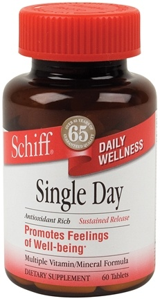DROPPED: Schiff - Sustained Release Single Day Multi Vitamin - 60 Tablets