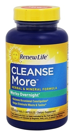 Renew Life - CleanseMore - 100 Vegetable Capsule(s)