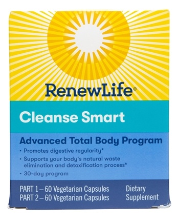 Renew Life - CleanseSmart Advanced Cleanse Kit 30-Day Program