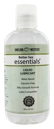 Sinclair Institute - Better Sex Essentials Liquid Lubricant - 8 oz.