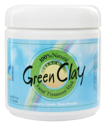 Rainbow Research - French Green Clay Mask Powder - 8 oz.