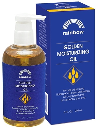 DROPPED: Rainbow Research - Golden Moisturizing Oil - 8 oz.