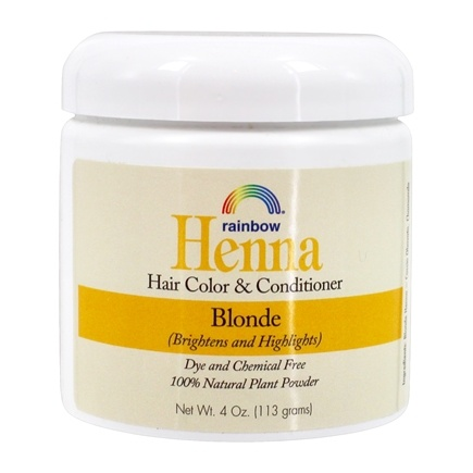 Rainbow Research - Henna Persian Hair Color Blonde - 4 oz.