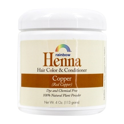 Rainbow Research - Henna Persian Hair Color Copper - 4 oz.