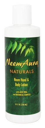 DROPPED: NeemAura Naturals - Neem Hand & Body Lotion - 8 oz.