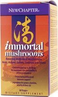 DROPPED: New Chapter - Immortal Mushroom - 60 Vegetarian Capsules