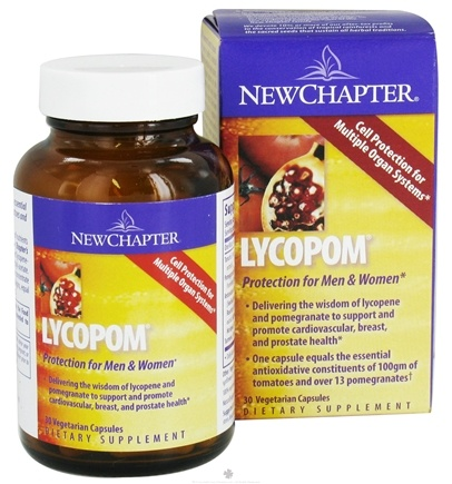 DROPPED: New Chapter - LycoPom - 30 Vegetarian Capsules