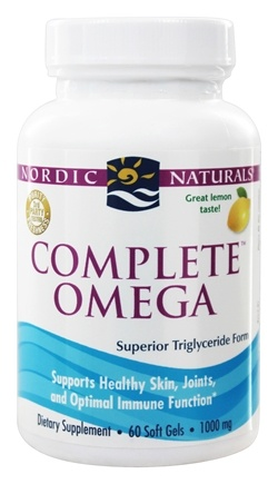 Nordic Naturals - Complete Omega Lemon 1000 mg. - 60 Softgels (formerly Omega-3.6.9)