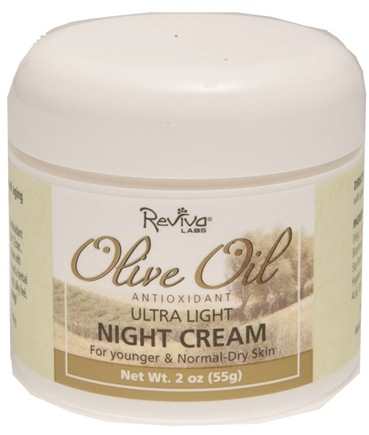 DROPPED: Reviva Labs - Olive Oil Ultra Light Nite Cream - 2 oz. CLEARANCE PRICED